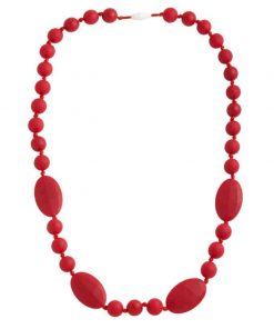 Camden Teething Necklace Red