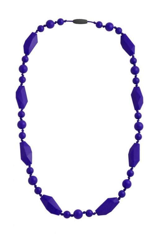 Nibbling Greenwich Necklace Navy Blue