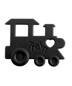 Teether Train Black
