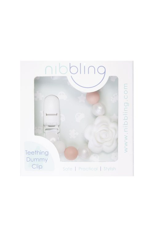Flora Dummy Clip White in packaging