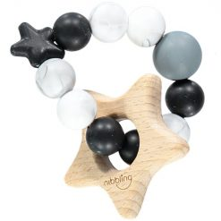 Star Natural Teething Toy Black and Marble 750x750 jpg