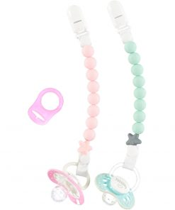 Pluto Dummy Clip twin pack girls