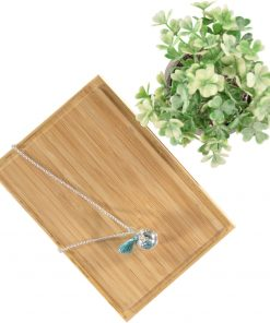 Bola Necklace Blue Topaz