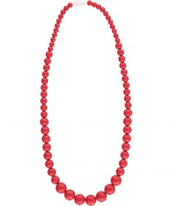 Kew Necklace Red