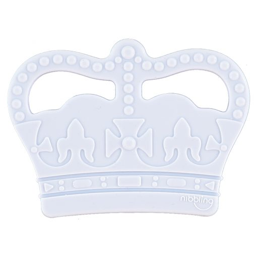 Royal Crown Blue Teether