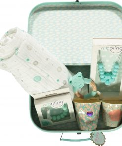 Mother and Baby Lux Gift Box Aqua