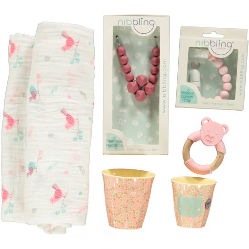 Mother and Baby Lux Gift Set Pink