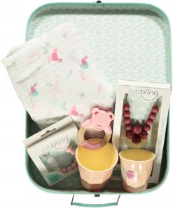 Mother and baby Gift Box Lux Pink